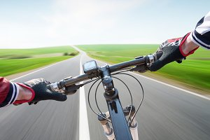 Ride on the bike