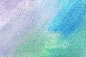 Blue-Green-Purple Watercolor Texture