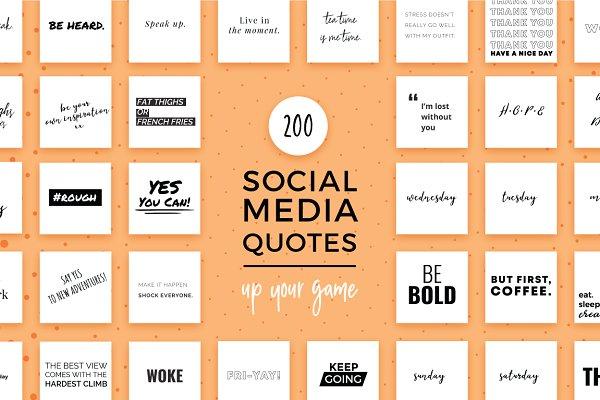 Essential Social Media Quotes
