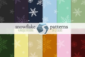 48 Snowflake Patterns