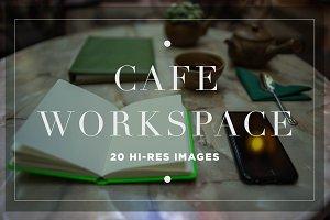 Cafe Workspace Scene
