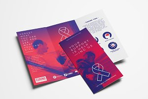 Cancer Charity Tri-Fold Brochure