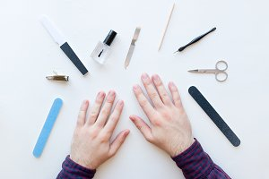 nail care and manicure