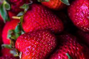 Organic strawberry dessert