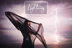 65 Lightning Overlays