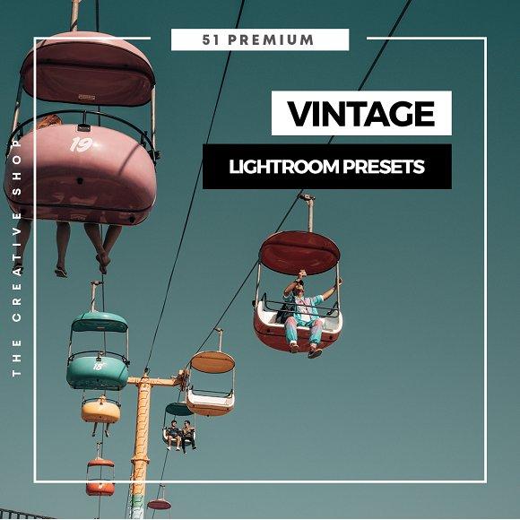 Premium Vintage Lightroom Preset
