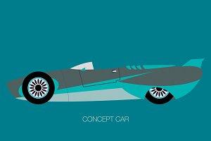 futurustic prototype supercar