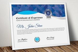 Certificate Word Format