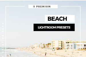 Premium Beach Lightroom Presets