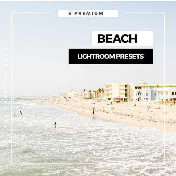 Premium Beach Lightroom Presets