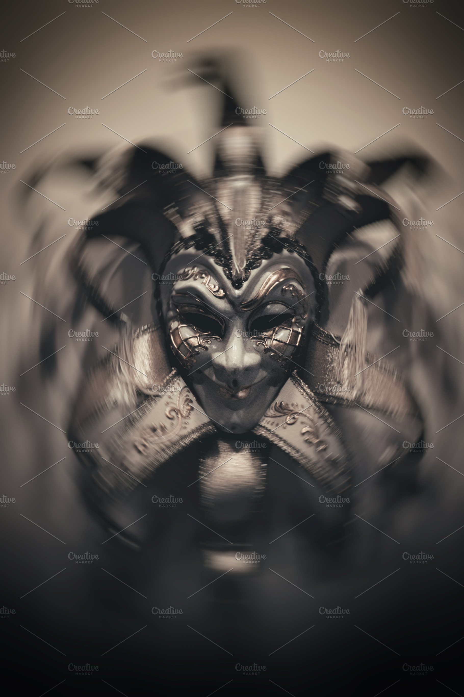 Sinister Joker Mask Arts Entertainment Photos Creative Market