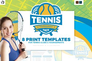 Tennis Templates Pack
