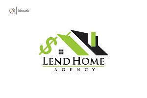 Rent House - Real Estate Logo