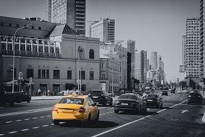 Traffic Car On Street
