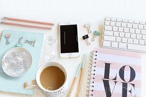 Pinterest Layout Styled Stock Image