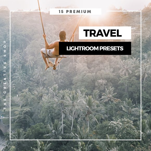 Premium Travel Lightroom Presets