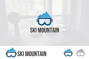 Mountain Ski Glasses Logo