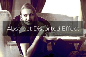 Abstract Distorted Effect