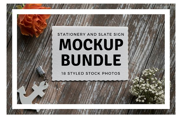 Big Stationery Mockup Bundle