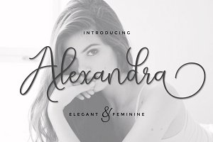 Alexandra script