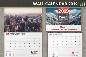 Wall Calendar 2019 (WC037-19)