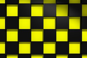 Yellow and black squares