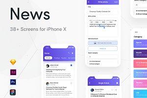 News iOS UI Kit