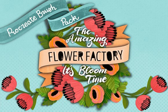 The Amazing PROCREATE Flower Factory
