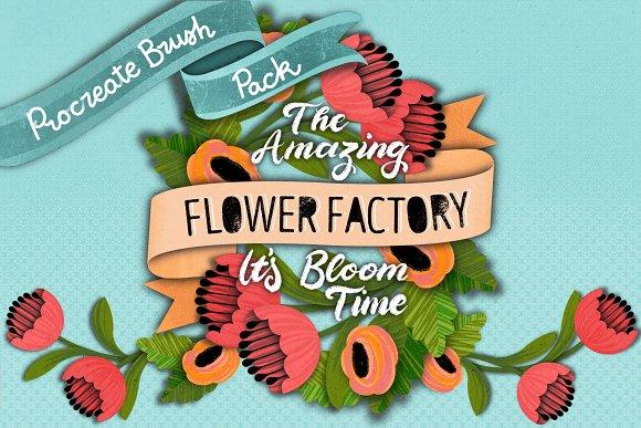 The Amazing PROCREATE Flower Factory