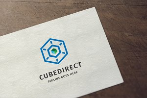 Cube Direction Logo