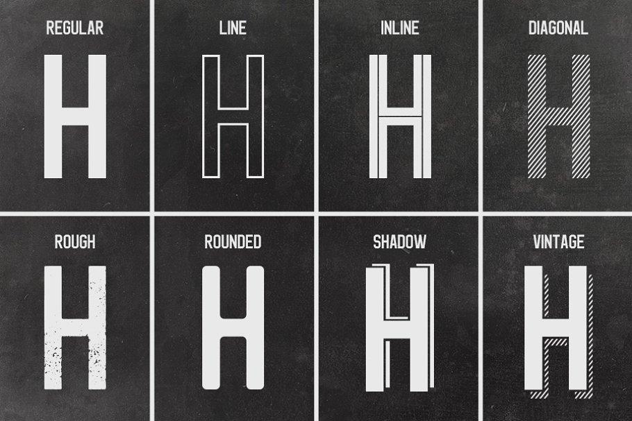 Best Geist Typeface Vector
