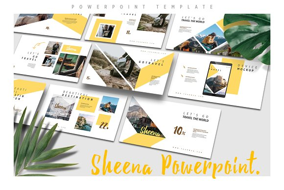 SHEENA Powerpoint Template