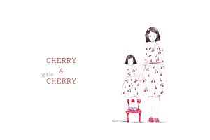 Cherry & little Cherry