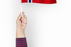 Flag of Kingdom of Norway