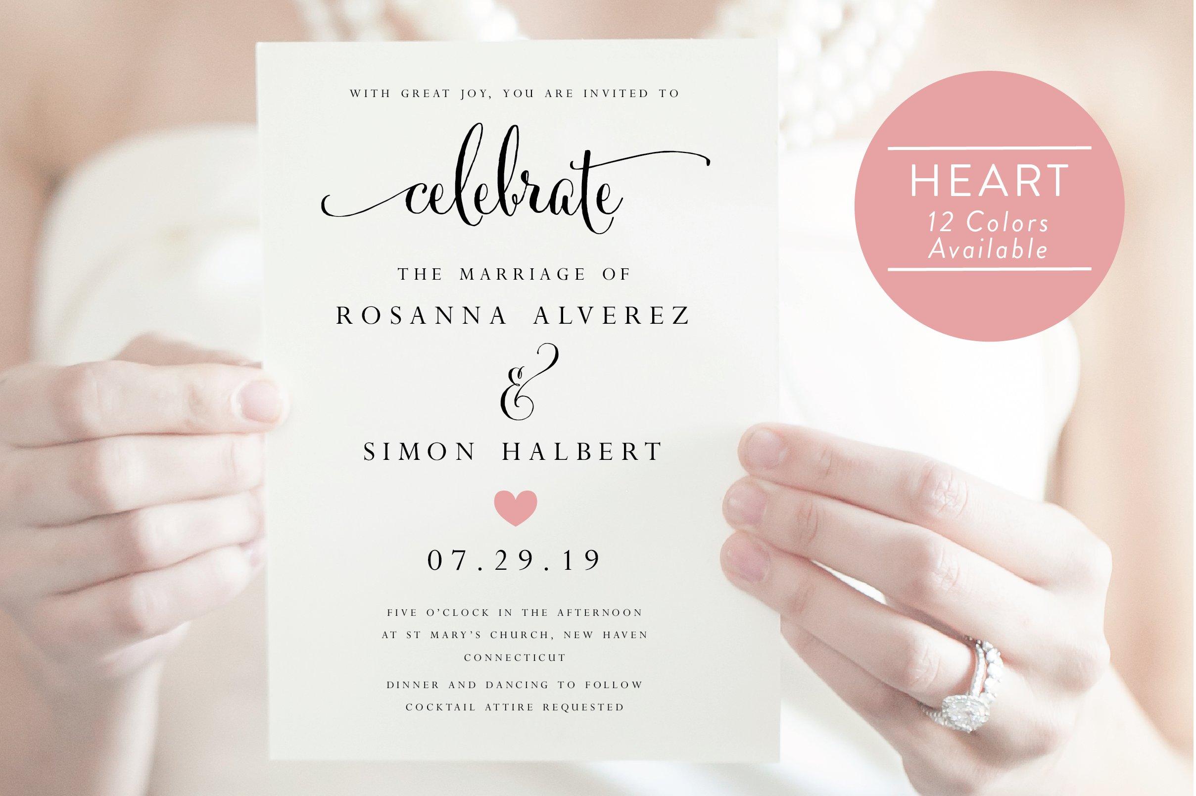 Wedding E Invitation Templates: Wedding Invitation