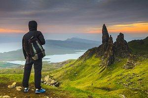 Sunrise in Isle of Skye, Scotland