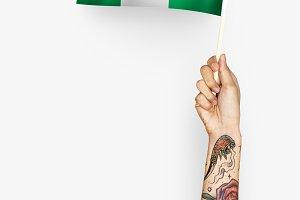 Flag of Federal Republic of Nigeria