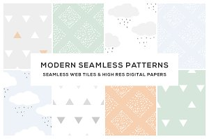 Modern Seamless Web Titles & Papers