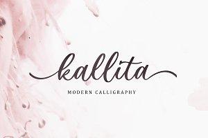 Kallita - Modern Script