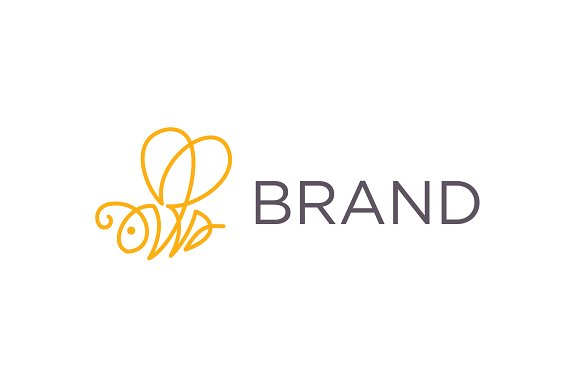 Line Bee Logo