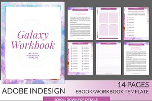 Galaxy Workbook INDD Template