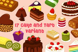 Cake and Tart Variant