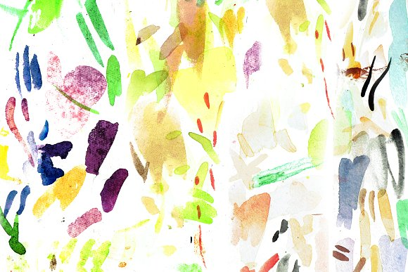 Expressionist Watercolor Brush