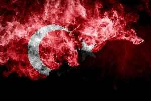 National flag of Turkey