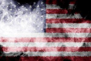 National flag of USA