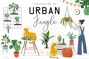 Urban Jungle collection