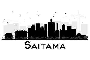 Saitama Japan City Skyline