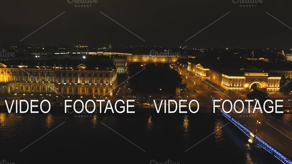 Night City With Illumination