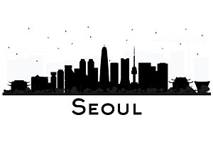 Seoul Korea City skyline