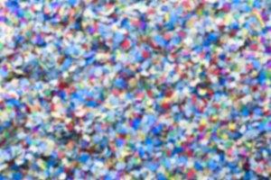 unfocused confetti background